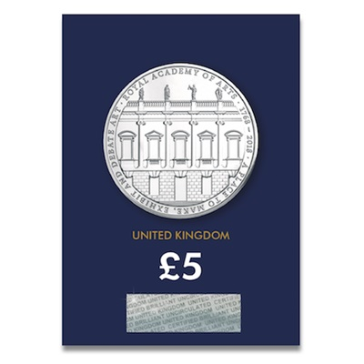 2018 £5 BU Coin - The Royal Academy of Arts