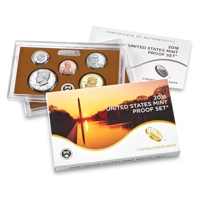 2018 United States Mint Proof Coin Set