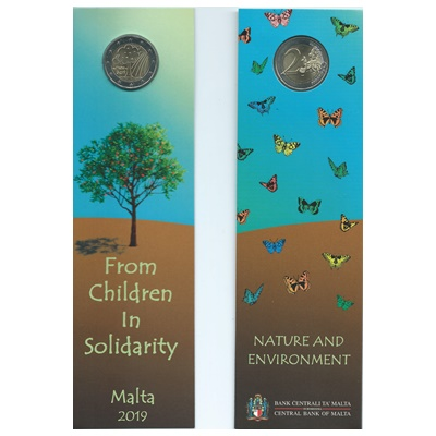 2019 €2 Coin - From Children in Solidarity - NATURE/ENVIRONMENT
