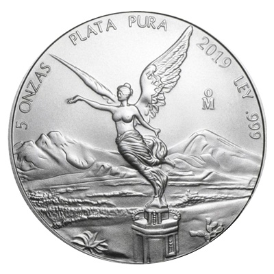 2019 5oz Silver LIBERTAD - NOW IN STOCK