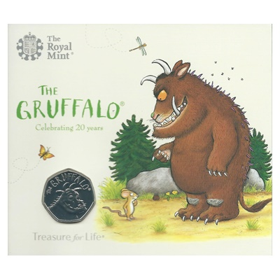 2019 BU 50p Coin Pack - The Gruffalo