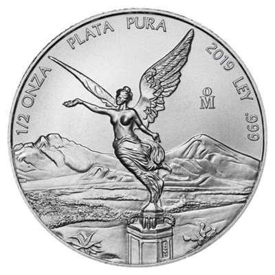 2019 1/2oz Silver LIBERTAD - NOW IN STOCK