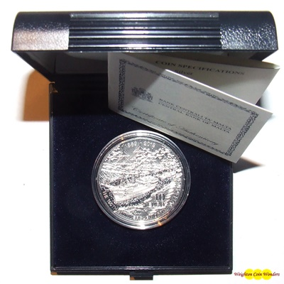 2019 Silver Proof €10 - 150TH ANNIVERSARY OF THE SUEZ CANAL