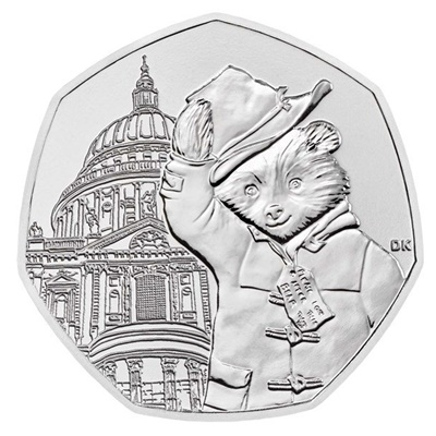 2019 50p - Paddington™ at St Paul's