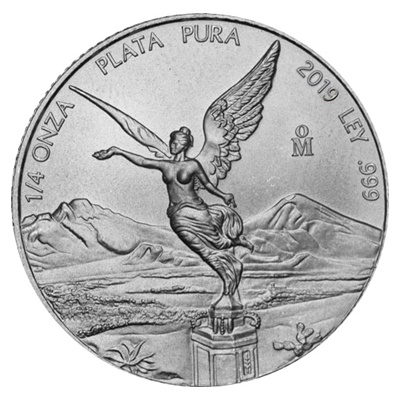 2019 1/4oz Silver LIBERTAD - NOW IN STOCK