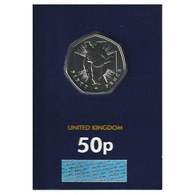 2019 BU 50p Coin (Card) - VC Winners Soldier
