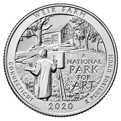 2020 (D) Weir Farm National Historic Site (Connecticut)