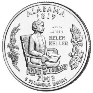 2003 - Alabama State Quarter (P)