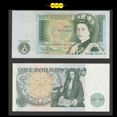 Bank of England £1 Note (DS36 737914)