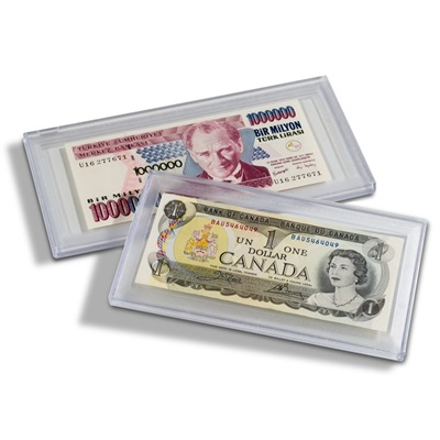 Banknote Capsule - for notes up to 156 x 75mm