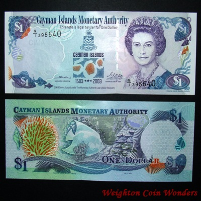 2003 Series Cayman Islands $1 - 500 Years