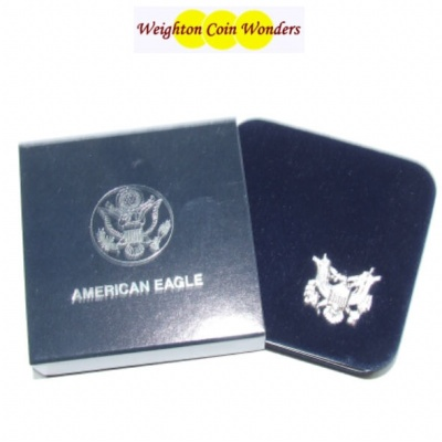 Deluxe USA Silver EAGLE Coin Case