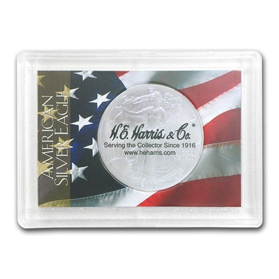 USA Harris Coin Holder - SILVER EAGLE