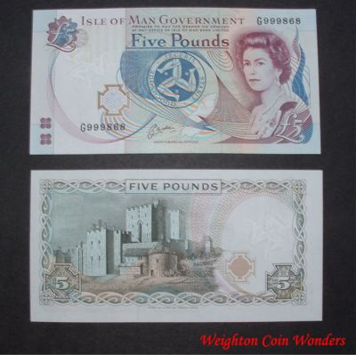 Isle of Man - £5