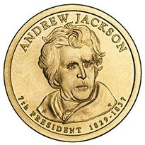 2008 (P) Presidential $1 Coin - Andrew Jackson