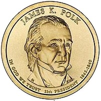 2009 (D) Presidential $1 Coin - James K. Polk