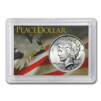 USA Harris Coin Holder - PEACE DOLLAR
