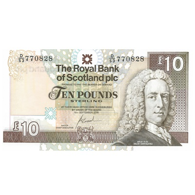2006 Royal Bank of Scotland Plc £10