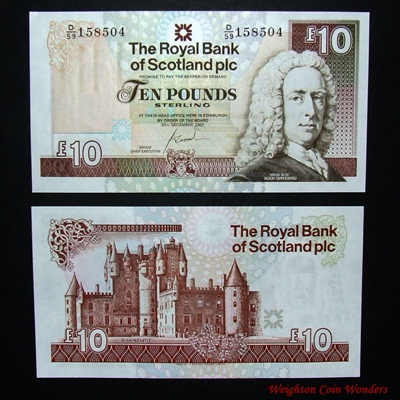 2007 Royal Bank of Scotland Plc £10