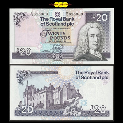 2007 Royal Bank of Scotland Plc £20