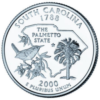2000 - South Carolina State Quarter (D)