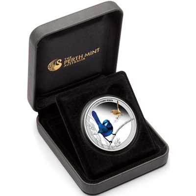 2013 1/2 oz Silver Proof - SPLENDID FAIRY WREN