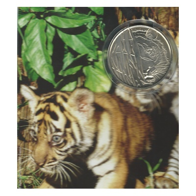 2009 Brilliant Uncirculated WWF Medal - Tiger