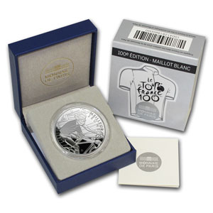 2013 Silver Proof 100th Tour de France - White Jersey