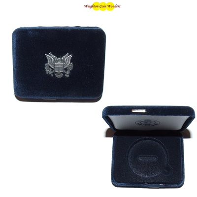 USA Mint Deluxe Velvet Proof EAGLE Case