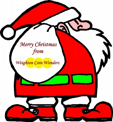 Christmas Themed Coins
