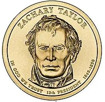 2009 (P) Presidential $1 Coin - Zachary Taylor