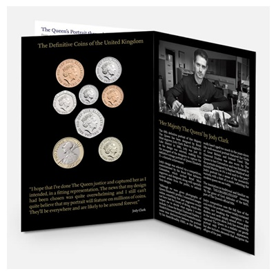 2015 The Fifth Circulating Coinage Portrait – First Edition Set