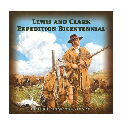 Lewis & Clark Expedition Bicentennial - Stamp & Coin Set