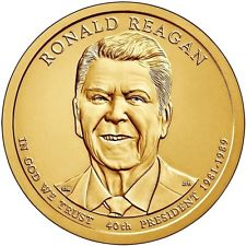 2016 (D) Presidential $1 Coin – Ronald Reagan
